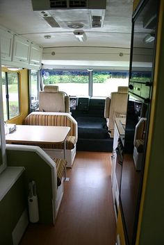 Yellow RV remodel