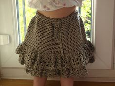 Free pattern  Ravelry: Project Gallery for Sedona Toddler Skirt pattern by Darlene Dale