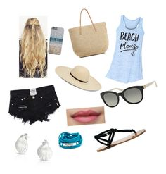 """""""Beach"""" by ksilvahaj on Polyvore featuring Sole Society, Target, Michael Kors, Blooming Lotus Jewelry and Bling Jewelry"""