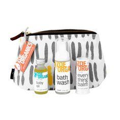 Zoe Organics | Essentials Baby Travel Set | #VonbonBabyGiveaway | http://blog.vonbon.ca