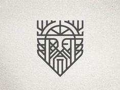 Industrial pallet furniture Odin Icon by Ryan Brinkerho . - Industrial pallet furniture Odin Icon by Ryan Brinkerhoff – - Odin Symbol, Viking Tattoo Symbol, Norse Tattoo, Armor Tattoo, Gaelic Tattoo, Yggdrasil Tattoo, Tattoo Symbols, Viking Tattoo Design, Finger Tattoos