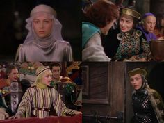 4 pics collage - Adventures of Robin Hood (1938)