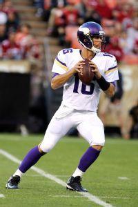 Minnesota Vikings Matt Cassel, he's such a babeeeeeeeee