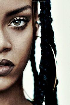 Rihanna edit for ID mag