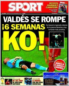 Los Titulares y Portadas de Noticias Destacadas Españolas del 20 de Noviembre de 2013 del Diario Sport ¿Que le pareció esta Portada de este Diario Español?