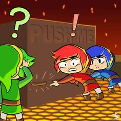 My experience with Tri Force heroes so far. [OC] - Imgur