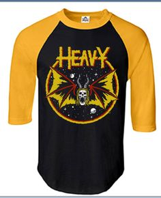 Image of HEAVY metal PARKING LOT 3/4 SLEEVE