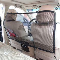 Pet Safety Travel Isolation Net Car Universal Mesh ,Dog Back Seat Net Barrier for SUV Van Car Vehicles -- Details can be found by clicking on the image. (This is an affiliate link and I receive a commission for the sales)