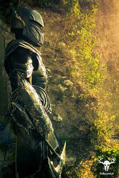 The Elder Scrolls: Skyrim - Ebony Armor Cosplay by Folkenstal Sources: x | x | x | x