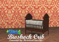 Bioshock Crib by Anni K at Historical Sims Life via Sims 4 Updates