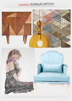 Decoração artística. Veja: http://www.casadevalentina.com.br/blog/detalhes/decoracao-artistica-3144 #decor #decoracao #interior #design #casa #home #house #idea #ideia #detalhes #details #style #estilo #casadevalentina #products #produtos