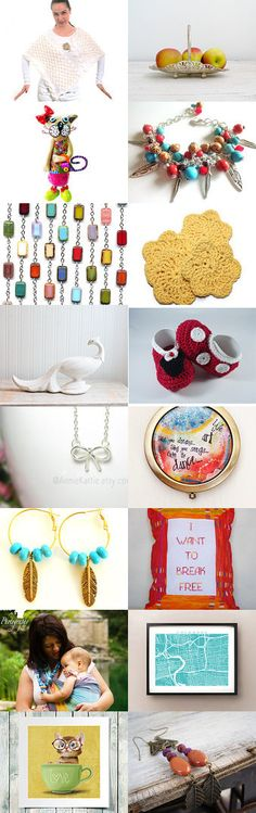 Colorful Dance by Janet Amelia on Etsy--Pinned with TreasuryPin.com