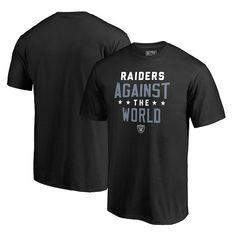 574db201418 Men's Oakland Raiders NFL Pro Line by Fanatics Branded Black Against The  World T-Shirt