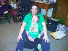 Wearin our green for Cerebral Palsy Awareness Day