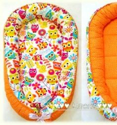 This handmade baby nest was designed to make life easier for new parents and their babies! Sew a baby nest and use anywhere your baby is resting. Having their own nest, will help your baby settle easier especially . Sewing Patterns Free, Free Sewing, Sewing Tutorials, Free Pattern, Sewing Diy, Clothes Patterns, Dress Patterns, Baby Nest Pattern, Handgemachtes Baby