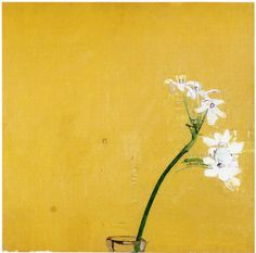 Euan Uglow, Narcissus on Yellow Ground (1979), oil on canvas. Via Painting Perceptions.