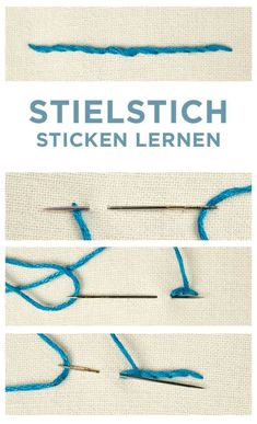 Most recent Photos knit Crochet for Beginners Concepts For anyone who is working out crochet, there's something to take into consideration that will make lernen anfänger Basic Embroidery Stitches, Learn Embroidery, Embroidery For Beginners, Knitting For Beginners, Embroidery Patterns, Knitting Patterns, Crochet Patterns, Knitting Stitches, Simple Embroidery