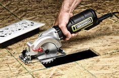 This could come in handy around the house. Rockwell Mini Circular Saw Mini Circular Saw, Compact Circular Saw, Circular Saw Reviews, Sierra Circular, Cordless Circular Saw, Woodworking Power Tools, Woodworking Projects, Woodworking Furniture, Woodworking Shop