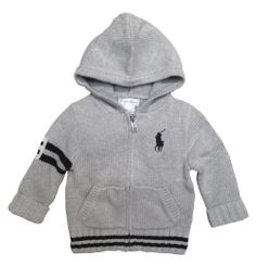 Isn't this little knit jacket for teeny-tiny man from Ralph Lauren just adorable?  http://www.brandsforkids.com.au/collections/baby-boy/products/ralph-lauren-hooded-full-zip-cardigan
