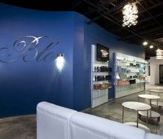Blo Salon: nice backlit mirrors & stations. This is a great salon! I love it!