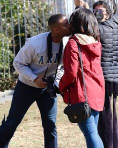 Michael Bakari Jordan, Just Jared, Kissing Him, American Actors, New Movies, Jordans, Star, Instagram, Stars