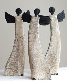 Weihnachtsengel - Margit Hohenberger - Keramik Kunst
