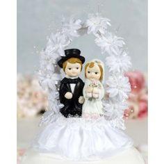 Wedding Cake Topper - Flower Arch