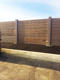 Concrete Fence Concrete Fence, Chain Link Fence, Group Of Companies, Iron Gates, Backyard, Fencing, Wood, Walls, Madeira