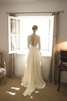 Robe de mariée Constance Fournier                              … #weddingdress