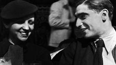 Capa, right, and his sometime partner Gerda Taro both lost their lives covering conflict.