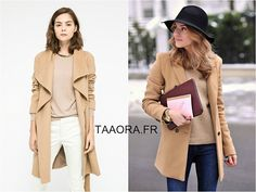 Looks   avec quoi porter un manteau camel   – Taaora – Blog Mode,  Tendances, Looks 1cf99e1bd30