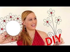 DIY ADORNOS PARA LA PARED HECHO DE ALAMBRE / IDEA PARA DECORAR - YouTube