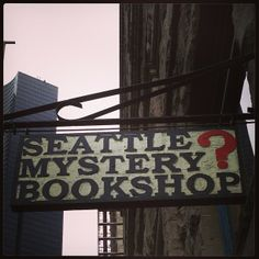My favorite place for mystery books!