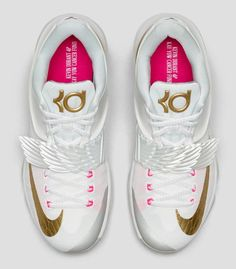 31821d2fe18e Sneakers For Girl   Nike KD 7 Aunt Pearl (Angel) Official Images   Release