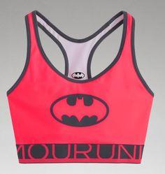 Women's Under Armour® Alter Ego HeatGear® Alpha Batgirl Sports Bra | Under Armour US
