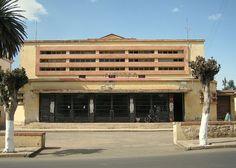 Cinema Palladium Asmara - Eritrea Art Deco buildings - Italian style in this beautiful City.