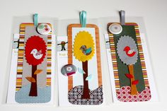 segnalibri bookmarks   https://flic.kr/p/5RtmQw | Bookmarks | New bookmarks! Paper, felt and satin ribbon.