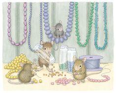 House-Mouse art by Ellen Jareckie