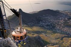 Table Mountain cableway, Cape Town.