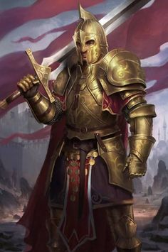 Golden legion captain's royal guard captains in thier battle armor be afraid when the emperor approaches with his captains for negotiations these are the most skilled warriors in the empire