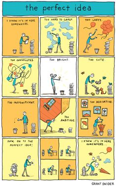 INCIDENTAL COMICS: The Perfect Idea