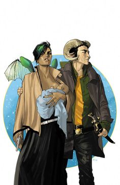 """Saga."" We were suspicious when a friend suggested that if you like ""Star Wars,"" you'll like this series by comic book legend Brian K. Vaughn (""Y: The Last Man,"" ""Ex Machina,"" ""Lost""). But he was right. Three issues in, it's positively epic and we're hooked. There's a Romeo-and-Juliet theme, there's a space war, there are anatomically confusing robot aliens... in other words, something for everybody."