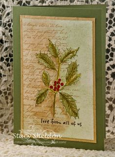 IC507 Holly {take one} by JBgreendawn - Cards and Paper Crafts at Splitcoaststampers