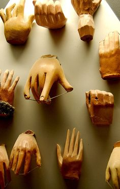 Disembodied Marionette Hands by Curious Expeditions, via Flickr