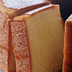 This is the best pound cake we have ever tasted. Its tender appeal is owed in part to cake flour and cream, and in part to beating the batter an extra 5 minutes.