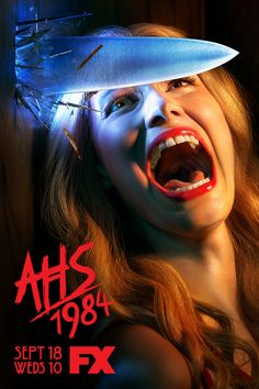 AHS: the ninth season of FX's American Horror Story, is a campy take on the classic slasher movie genre. American Horror Story Coven, Billie Lourd, Matthew Morrison, Gus Kenworthy, Evan Peters, Usain Bolt, Slasher Movies, Horror Movies, Scary Movies