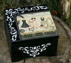Cajas decoradas con 2