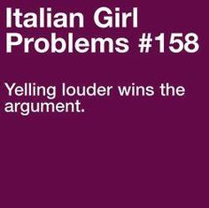 Yelling louder wins the argument.