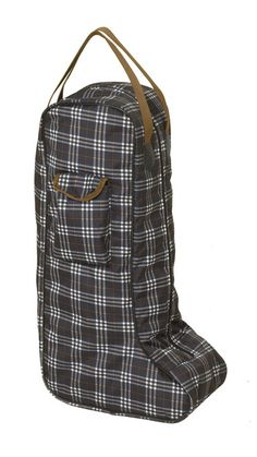 Centaur® Boot Bag Classic Blue Corn Plaid. Check out the whole selection of options by clicking on the link in my bio! @palephant