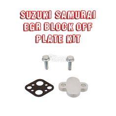 Suzuki Samurai EGR (Exhaust Gas Recirculation) Block Off Plate Kit (SEU-EGRB)